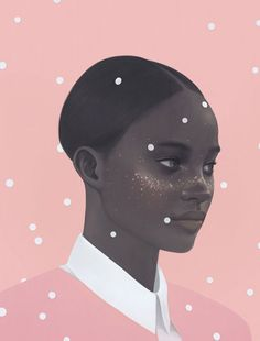 Selected illustrated portraits from a self-initiated project by Hsiao-Ron Cheng (鄭曉嶸). Hsiao-Ron Cheng (鄭曉嶸) is a 1986-born Taipei, Taiwan based digital ar