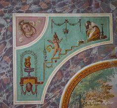 """The Ornamentalist: The Private Bathchamber of the Grand Duchess  Medici Villa of Artimino known as """"La Ferdinanda."""""""