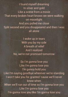 When i lost my bet lyrics