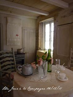".I think what is interesting about European miniatures is that they are ""typical"" of how actual people - not Royals - live.  This is a typical kitchen in Provence"