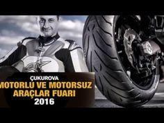 Altın Elbiseli Adam Çukurova Motosiklet Fuarı 'nda