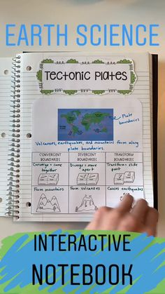 This Earth Science Interactive Notebook is the perfect activity to use your in science classroom! It includes information about earthquakes, volcanoes, weathering, erosion, and deposition. - Kids education and learning acts Kid Science, Science Notes, Middle School Science, Physical Science, Teaching Science, Science Journals, Interactive Science Notebooks, Science Inquiry, Science Vocabulary