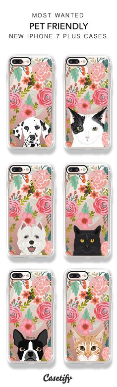 Most Wanted Pet Friendly iPhone 7 / iPhone 7 Plus Phone Cases here >> https://www.casetify.com/artworks/tL4AzxKODD
