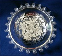 SUSAN'S SELECTIONS on Ruby Lane http://www.rubylane.com/item/200888-SS-01165/Heisey-Lariat-Bowl-Silver-City #heisey