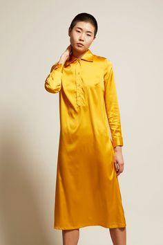 Baserange Bandela Kaftan Dress in Soleil Silk