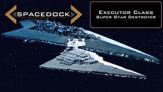 Star Wars: Executor Class Super Star Destroyer (Legends) - Spacedock