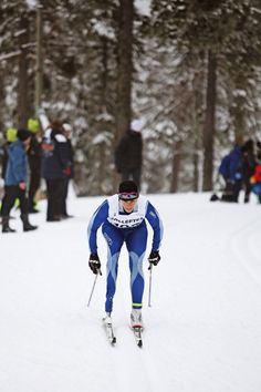 Paralympic Winter World Cup and the World Championship 2013 in Sollefteå. The race for bronze medal at the 5 km. Photo: Karl Nilsson