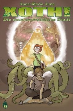 Although it is only in German as far as I know, I've got to give a shout-out to Xoth! by Anna-Maria Jung. She is a master of the medium. Graphic Novels, Super Powers, Shout Out, German, Anna, Comics, Medium, Girls, Deutsch