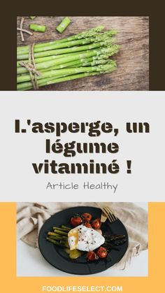 Le mois de juin, parfois pluvieux, parfois ensoleillé ! Afin de donner toute la force à notre corps, il suffit simplement de lui donner les aliments qu'il mérite. Eh oui, les asperges sont bien arrivées et on ne pourrait pas s'en passer, surtout se passer de ses nombreuses vertus, notamment diurétiques et aphrodisiaques. #asperges #légume #sain #healthy Afin, Green Beans, Articles, Vegetables, Healthy, Food, Asparagus, Veggie Food, Vegetable Recipes