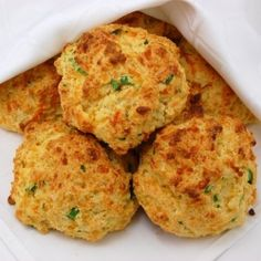 These Cheddar Buttermilk Biscuits packed with two types of cheeses and scallions are the perfect addition to your fall dinner table.