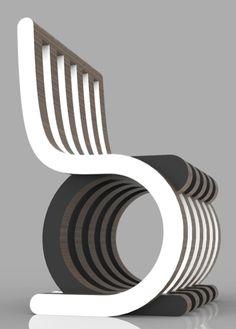 의자의 디자인이 재밌는 구조이고 어디에 딱 내놓아도 시선을 꿀수잇을것 같아 좋은 디자인이라고 생각합니다