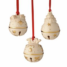 Lenox Just Jingles Ornaments. I love my Lenox collection and add to it every years. My 2nd obsession, 1st is shoes.