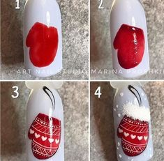 nail designs for fall nail designs for short nails 2019 essie nail stickers nail art stickers at home best nail stickers 2019 nail art designs 2019 nail designs for short nails 2019 essie nail stickers nail art stickers walmart best nail wraps 2019 Nail Art Noel, Xmas Nail Art, Cute Christmas Nails, Xmas Nails, New Year's Nails, Christmas Nail Art Designs, Winter Nail Art, Winter Nail Designs, Holiday Nails
