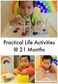 Practical Life at 21 Months