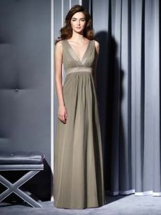 "Bridesmaids dresses from Dessy in ""Mocha"".....would like a light pink or champagne color???"