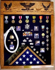 Military Shadow Boxes, Custom Displays and Retirement Gifts Challenge Coin Display Case, Challenge Coins, Diy Shadow Box, Shadow Box Frames, Flag Display Case, Display Cases, Military Shadow Box, Retirement Gifts, Military Retirement