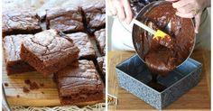 Nutella-Brownies: 5 Minuten mit nur 3 Zutaten!