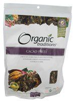 Organic Traditions Cacao Paste -- 16 oz for only $15.99 You save: $1.60 (9%)