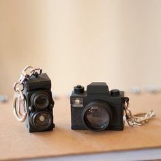 LED Camera keychain set