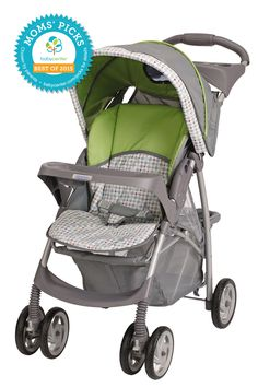 2015 BEST STANDARD STROLLER Graco LiteRider Stroller  *BabyCenter Moms' Picks are based on a nationwide survey and online voting on BabyCenter.com that allow parents to voice their opinions about and share their experience with the key products and gear of parenting. BabyCenter does not endorse any specific product.