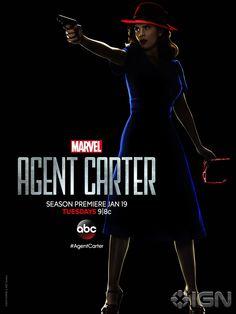 Agent Carter – Un poster noir per Hayley Atwell