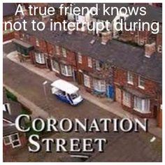 Coronation street meme by Julie Brown