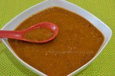 Salsa de tomate con chile de árbol