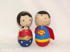 Kokeshi superheroes