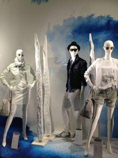 """""""shades of blue"""", pinned by Ton van der Veer"""