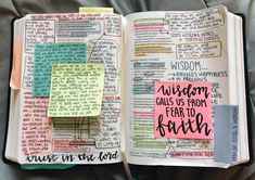 Discover recipes, home ideas, style inspiration and other ideas to try. Bible Notes, My Bible, Bible Art, Bible Study Journal, Scripture Study, Bible Verses Quotes, Bible Scriptures, She Reads Truth Bible, Bibel Journal