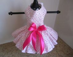 """Items similar to Dog Dress XS Pink Sequins By Nina's Couture Closet """"Exclusive Line Bella """" on Etsy"""
