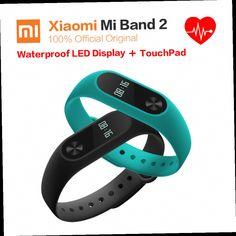 52.00$  Buy now - http://alih40.worldwells.pw/go.php?t=32754837151 - New Technology Original  Heart Rate Monitor Xiaomi Mi Band 2  Fitness Bracelet Pulsera Inteligente Wristband Passometer Activity