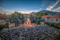 The Shakespeare Festival in Boulder, at CU!
