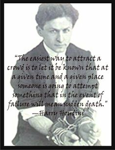 """a biography of ehric weiss or better known as the great houdini He was born erich weiss in budapest, hungry, on march 24, 1874 in 1878  he  was nine years old and called himself the prince of the air"""" seven years later, he  changed his name to harry houdini and became an professional magician."""