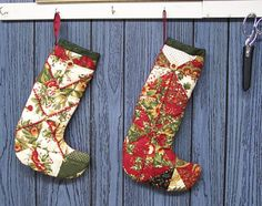 Christmas Quilts Photo Gallery: Christmas Presence Stockings