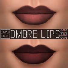 Image result for ombre lips