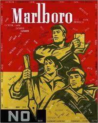"""""""Marlboro"""" by Wang Guangyi"""