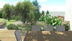 Pohled z pergoly dál do zahrady #flowergarden #garden #familygarden #landscapearchitect  #praque #zahradniarchitekt #praha #zahrada #moderngarden #rodinnazahrada #czechgarden #letemkvetem #mywork Outdoor Furniture Sets, Outdoor Decor, Sun Lounger, Pergola, Home Decor, Chaise Longue, Decoration Home, Room Decor, Outdoor Pergola