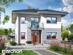 Willa Julia 8 (P) Style At Home, Zen House Design, Construction, Home Fashion, Planer, Ideal Home, Facade, Villa, Mansions