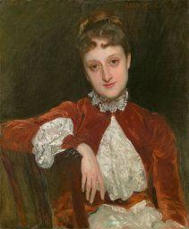 John Singer Sargent American, 1856-1925, Mrs. Charles Deering (Marion Denison Whipple)