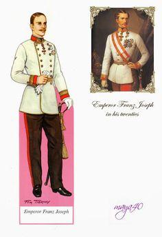 Empress Elisabeth and emperor Franz joseph paper dolls - Onofer-Köteles Zsuzsánna - Álbumes web de Picasa