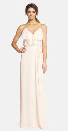 Gorgeous! The newest line from Amsale Bridesmaids 'nouvelle' Amsale bridesmaid dresses are available at Nordstrom: Shop them here: http://rstyle.me/n/wdzsnnqm6