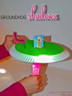 Groundhog Day is Feb. 2! Great craftivity for kids to see how the location of the sun effects shadow length & position. My kids love making these! $2