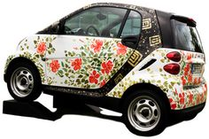 Smart Car painting by me