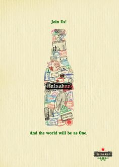 20 creative advertising posters for your inspiration Heineken Beer Ad Creative Advertising, Advertising Poster, Advertising Campaign, Advertising Design, Ads Creative, Beer Poster, Poster Art, Funny Commercials, Funny Ads