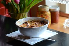 This classic recipe is easier to make than you might think, but the result yields the taste of true comfort food with every bite. FRENCH ONION SOUP - C'est magnifique!