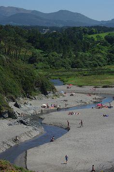 Playa de Frexulfe. Asturias. Spain.