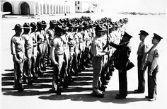 "Recruits at San Diego Marine Base get first ""peek"" at new Garand automatic rifle."