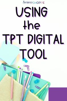 Wondering how to use TpT's Digital Tool on PDF purchases? Head to this blog post to learn more about the tool and start using the TpT Digital Tool today! This is a quick and easy to understand post that will get you using the tool in no time! #education #tptdigital #blogpost Earth Science Activities, Teaching Science, Teaching Resources, Teaching Ideas, 6th Grade Science, Elementary Science, Upper Elementary, High School Chemistry, High School Biology