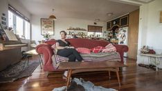 """Kiwi actress and Top of the Lake star Alison Bruce shows us around her """"scatter gun, nostalgic, and carnival"""" family home in West Auckland."""